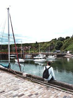 Découvrir l'Écosse en cinq lieux phares - Blog Gournal Petits Bars, Rue Pietonne, Outdoor Furniture, Outdoor Decor, Blog, Old Boats, Amazing Sunsets, Catacombs, Lighthouses
