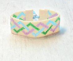 Beaded Bracelet Boho Jewelry Womens Bracelets by SKBeadedJewelry