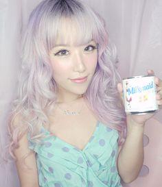 Xiaxue lilac hair - I want this hair colour!