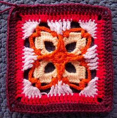 This square is a component of the Seaside Winter Blanket. CAL currently running on zootyowlcards.blogspot.com
