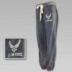 Air Force Women`s Angel Fleece Sweatpants