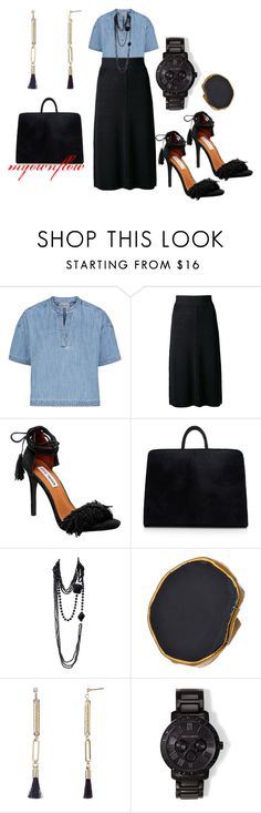"""""""GOD TIME AT 7AM"""" by myownflow ❤ liked on Polyvore featuring Rachel Comey, Isabel Marant, Steve Madden, Simone Rocha, Yves Saint Laurent, Charlene K, John Lewis and Vince Camuto"""