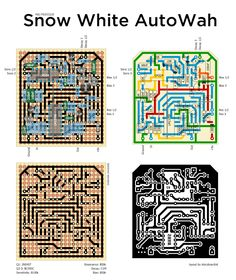 Perf and PCB Effects Layouts: Auto-Wah