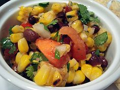 Perfect Pairings Part 2 – Grilled Corn and Black Bean Salad | my kitchen addiction