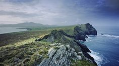 "Dingle Peninsula, Ireland. Almost the furthest point west in ""main land"" Europe. Also, highest pub-per-person ratio in Ireland."