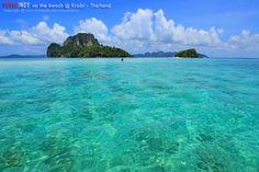 Sea at noon. #KrabiThailand #Travel #Thailand ++ English language support >> http://ThailandHolidays7.com