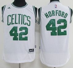 Boston Celtics   42 Al Horford White Stitched NBA Jersey