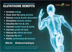 The Master Antioxidant. Glutathione  www.relaxspa.us