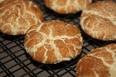 Soft, chewy snickerdoodles - (works really well in high altitudes!)