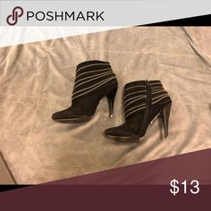 Bootie Heels Well worn, just don't want them anymore. Size 5.5 Shoes Ankle Boots & Booties