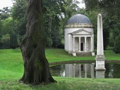Garden of Chiswick House, London, UK