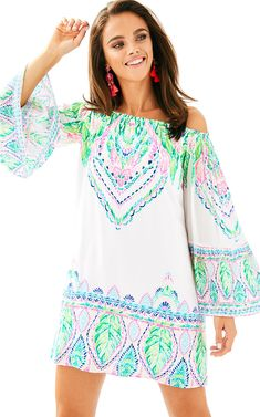a6129dbe929 Nevie Off The Shoulder Dress by Lilly Pulitzer -  178 Summer Fashions