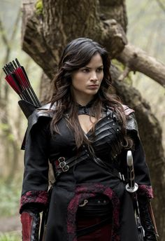 Nyssa al Ghul (Katrina Law in Arrow, Season 5, 2016)