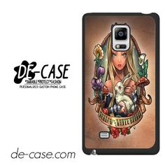 Alice And Wonderland Pin Up DEAL-484 Samsung Phonecase Cover For Samsung Galaxy Note Edge