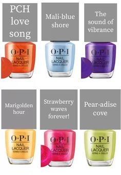 New Opi Colors, Opi Gel Nail Colors, Opi Gel Nails, Opi Gel Polish, Gel Polish Colors, Gel Color, Summer Pedicure Colors, Best Summer Nail Color, New Nail Trends