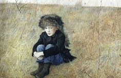 Andrew Wyeth's 'Faraway' my absolute favorite, especially now I am a mother of a little boy...