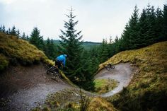 Loving the berms - Gisburn, UK http://www.uksportsoutdoors.com/product/indigo-mens-verso-x1-hybrid-bike-black-20-inch/