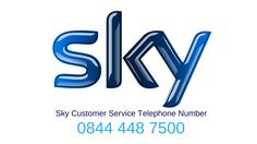 Sky Customer Services TelePhone Number | 0844 448 7500