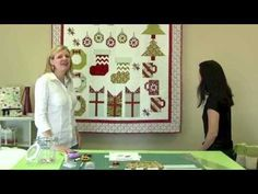 Deck-ade the Halls with Fat Quarter Shop - Santa's Stockings - YouTube