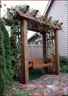 Luxury Garden Trellis DIY about home decor - Pergola Ideas Diy Trellis, Garden Trellis, Wall Trellis, Rose Trellis, Trellis Ideas, Building A Pergola, Pergola Plans, Building Plans, Backyard Swings