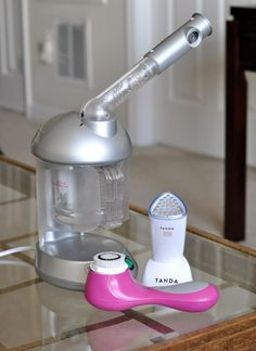 Review: The 3 Best At-Home Facial Gadgets Devices For Clear Acne-Free Skin - Clarisonic, Tanda Clear Plus Huetiful Steamer