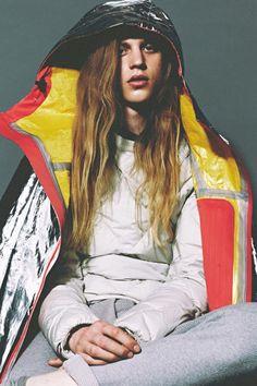 Konan Hanbury by Lea Colombo for Used Magazine.