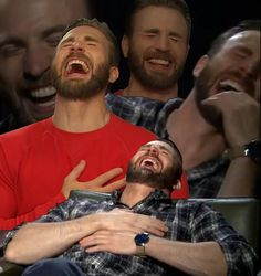 """""""Someone: you only like Captain America because Chris Evans is hot Me:"""" Chris Evans Beard, Chris Evans Funny, Chris Evans Gifted, Capitan America Chris Evans, Chris Evans Captain America, Stucky, Steve Rogers, Bucky Barnes, Memes Chats"""
