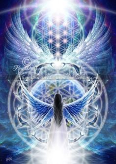 I love this! Blue flame/ blue ray Angel