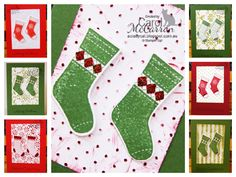 =A Crafty Cat; Stampin' Up! Christmas Stocking