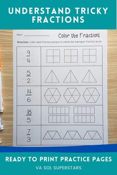 Fraction Games, Fraction Activities, Fun Activities For Toddlers, Math Activities, Teacher Resources, Fractions For Kids, Pizza Fractions, Improper Fractions, Math For Kids
