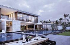 Diseño de Interiores & Arquitectura: Villa Chenglu con Maravillosas vistas al Mar en Lingshu, Hainan, China.