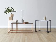 Acquista on-line Cicca By miniforms, tavolino in metallo con piano in laminam