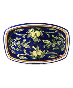 Look at this Citronique Rectangular Platter on #zulily today!
