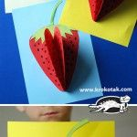 Strawberry+Paper+Craft
