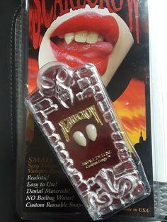 Half Vampire Skull Mask Halloween Fancy Dress Fangs Adults Latex Costume Dracula