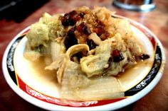 Braised cabbage with mince meat — at 台北市艋舺龍山