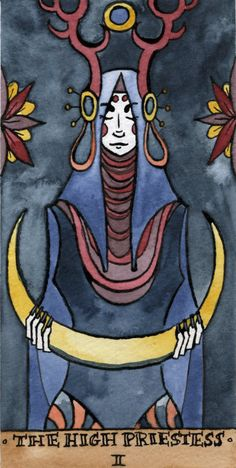 High Priestess by annelk on Deviant Art