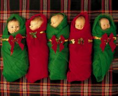 Photo idea Christmas newborn