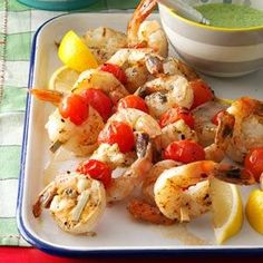 Lemony Shrimp
