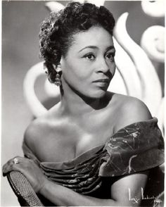 Singer and actress Thelma Carpenter