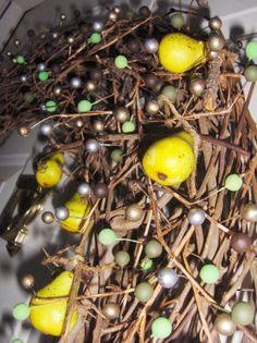 pear wreath.