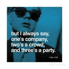 Hier steigt eine Party Giclée-Druck von Andy Warhol bei AllPosters.de