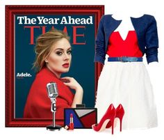 """ADELE"" by concettodimoda ❤ liked on Polyvore featuring Yves Saint Laurent, Les Petits Joueurs, Gianvito Rossi and Estée Lauder"