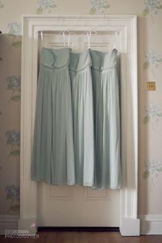 Celadon bridesmaids dresses