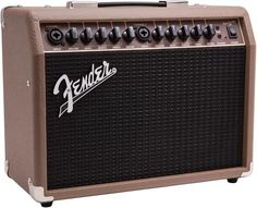 Looking for the perfect grab-and-go solution for small gigs? Plug your acoustic-electric guitar and dynamic vocal mic into the Fender Acoustasonic 40 acoustic guitar amplifier and you're ready to perform. Learn Acoustic Guitar, Acoustic Guitar Strings, Acoustic Guitars, Guitar Logo, Guitar Tattoo, Guitar Shop, Cool Guitar, Guitar Case, Gretsch