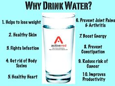 Benefits Of Drinking 5-8 Glasses Of Water A Day!
