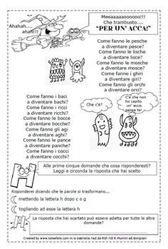 Tate & Fate - 22 Italian Lessons, Italian Language, Learning Italian, Literacy, Worksheets, Classroom, Coding, Teaching, Activities
