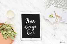 Tablet styled stock photography By Miss Ollie