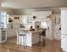 Wall Paint For White Kitchen Cabinets