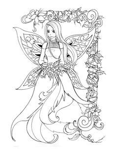 fairies coloring pictures free printable - Pesquisa Google